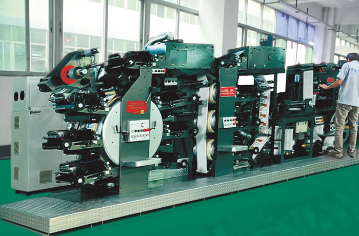 High-speed Full-rotary Six-color Multifunctional Press
